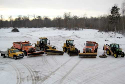 Town of Jackson Highway Department Equipment